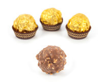 Schokoladenbälle Lizenzfreie Stockfotografie