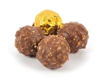 Schokoladenbälle Stockbild