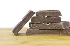 Schokoladenblöcke Lizenzfreie Stockbilder