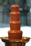 Schokoladenbrunnen stockbild