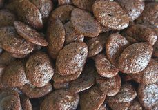 Schokoladencorn-flakes lizenzfreies stockbild