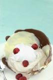 Schokoladencreme Stockbild