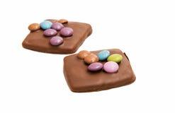 Schokoladendeutschplätzchen Lizenzfreie Stockfotografie