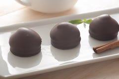 Schokoladeneibische lizenzfreies stockfoto
