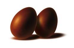 Schokoladeneier Lizenzfreies Stockbild