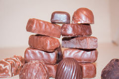 Schokoladenfeiertagssüßigkeits-Süssekinder Stockfotos