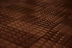 Schokoladenfliesen Lizenzfreies Stockfoto