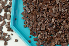 Schokoladenflocken Lizenzfreie Stockbilder