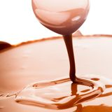 Schokoladenfluß Stockbilder