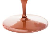 Schokoladenfluß Stockfotos