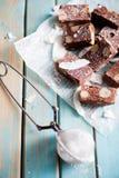 Schokoladenfondant lizenzfreie stockfotografie