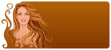 Schokoladenfrau Lizenzfreies Stockfoto