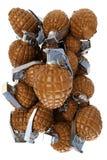 Schokoladenhandgranaten vektor abbildung