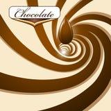 Schokoladenhintergrund Stockbild