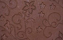Schokoladenhintergrund Lizenzfreie Stockfotografie