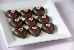Schokoladeninnere Lizenzfreie Stockbilder