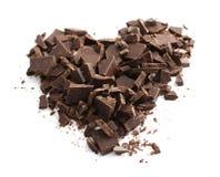 Schokoladeninneres Lizenzfreie Stockfotografie