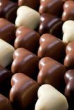 Schokoladeninnerhintergrund Lizenzfreie Stockfotografie