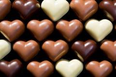 Schokoladeninnerhintergrund Stockbild