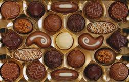 Schokoladenkasten Stockfoto