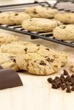 Schokoladenkekse stockfotografie