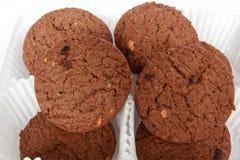 Schokoladenkekse. Stockfoto