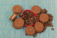 Schokoladenkekse Lizenzfreie Stockfotografie