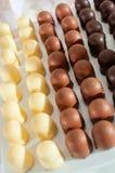 Schokoladenkleine kuchen Stockfoto