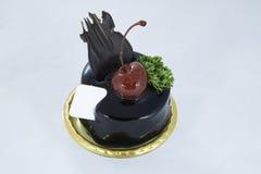 Schokoladenkleiner kuchen Lizenzfreie Stockfotografie