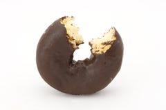 Schokoladenkrapfen Stockfotos