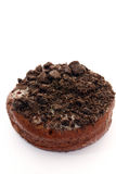 Schokoladenkrapfen Stockfoto