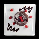 Schokoladenkuchen Stockfotos
