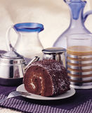 Schokoladenkuchen Lizenzfreies Stockbild
