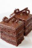 Schokoladenkuchen. lizenzfreie stockbilder