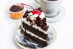 Schokoladenkuchen Lizenzfreie Stockbilder