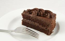 Schokoladenkuchen Stockfotografie