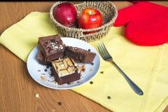 Schokoladenkuchen 2 Lizenzfreie Stockfotografie