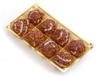 Schokoladenkugeln. Lizenzfreies Stockbild
