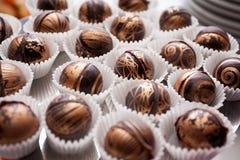 Schokoladenkugeln Lizenzfreie Stockbilder