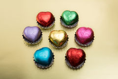 Schokoladenliebe Stockbild