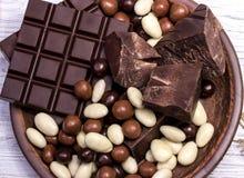 Schokoladenmischung Stockbild