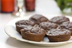 Schokoladenmuffin Stockfotografie