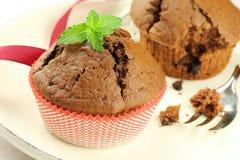 Schokoladenmuffin Stockfotos