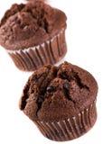 Schokoladenmuffin lizenzfreie stockfotos