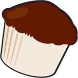 Schokoladenmuffin Stockbild