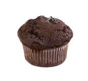 Schokoladenmuffin mit flüssiger Schokolade Lizenzfreies Stockfoto