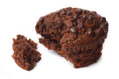 Schokoladenmuffins Stockfoto