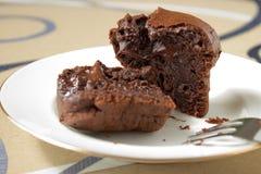 Schokoladenmuffins Lizenzfreie Stockbilder