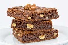Schokoladenmutterenschokoladenkuchen Stockfotos
