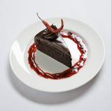 Schokoladennachtisch. lizenzfreie stockbilder
